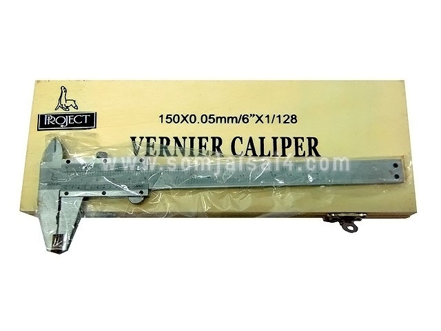 (SALE)เวอเนีย VERNIER CALIPER PROJECT 150x0.05mm.
