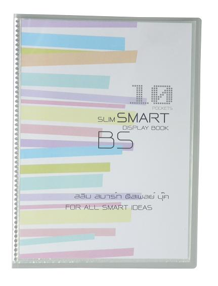 แฟ้ม Intop Slim smart display book  B5 No.SB-510