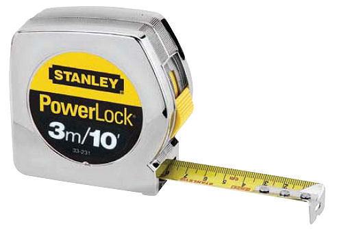 ตลับเมตร Stanley Power Lock 33-231 (3m.X12.5mm.)