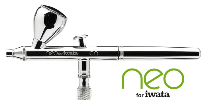 (SALE)แอร์บรัช Iwata HP-CN NEO Double Action Airbrush